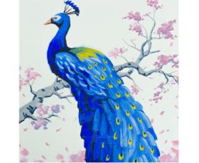 """Арт-вечеринка. Рисуем картину """"King bird''"""